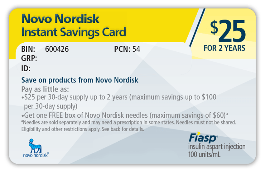 Novo Nordisk Savings Card